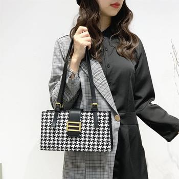 Women Black Fashion Style Fabric Material Single Shoulder Bag Lightweight  The Latest Delicate Beautiful No.222