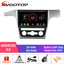 AVGOTOP 9245 Android 9 Bluetooth GPS Car Radio DVD Player For VOLKSWAGEN PASSAT 2012-2014 MP4 Vehicle Multimedia(China)