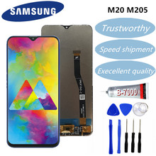 SAMSUNG Galaxy M20 2019 SM-M205 M205F LCD Display Touch Screen Digitizer Assembly replacement parts