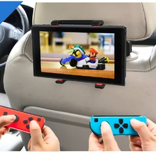 Nintend Switch Car Headrest Mount 360 Degrees Adjustable Holder Stand for Nintendo Switch NintendoSwitch NS Console Accessorie