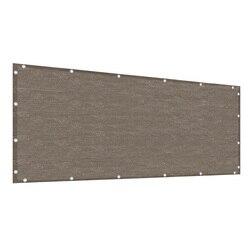 0.9x5m siatka cieniująca ogrodzenie ogrodowe bezpieczeństwo poręcz ogrodowa Anti-UV HDPE basen sukulenta pokrywa ekran zasłaniający