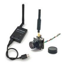Mini vtx-cam 5.8g 48ch 100mw transmissor com 800tvl câmera e skydroid otg uvc receptor para android tablet do telefone móvel rc