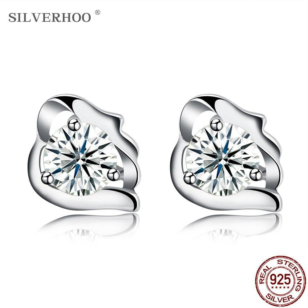 New 925 Sterling Silver Cross Chain Drop Stud Earrings Womens Jewellery Gift UK