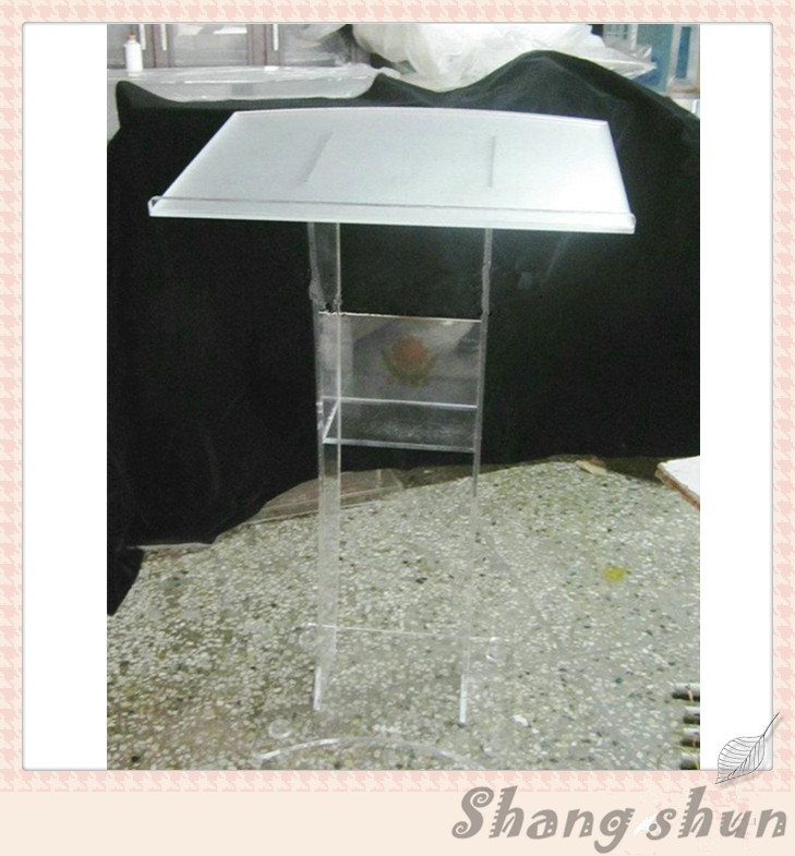 Acrylic Lectern Podium Rostrum Pulpit Plexiglass Cheap Pulpit Acrylic Dais Clear Acrylic Church Podium Stand