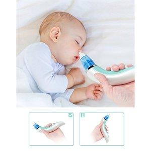 Детский носовой аспиратор, Электрический Очиститель носа, очиститель для новорожденных, оборудование для нюхания, безопасный гигиенический аспиратор для носа