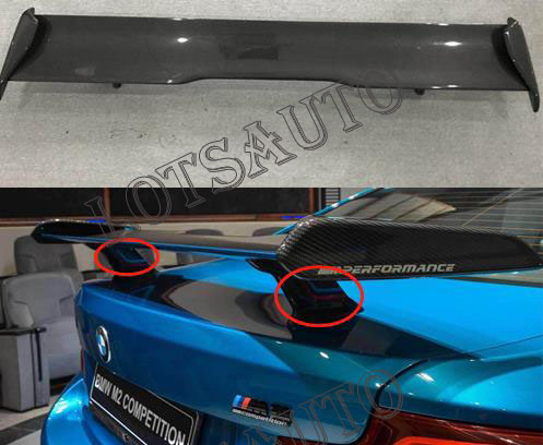 F80 F82 F87 M2 M3 M4 M Performance Style Carbon Fiber Rear Spoiler For car Bmw m2 m3 m4 car styling image