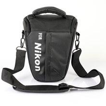 Su geçirmez dslr kamera çanta Case Nikon P1000 P900 S D850 D810 D800 D610 D3500 D3400 D5600 D5500 D750 D7500 D7200