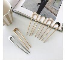 Заколка для волос в стиле «минимализм» женщин и девушек инструменты