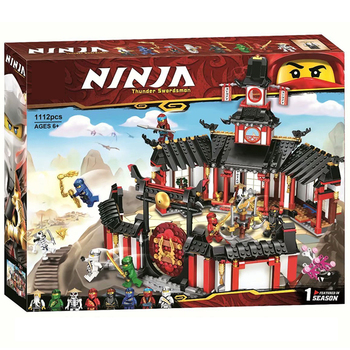 Ninjagoed Legacy Monastery of Spinjitzu Building Blocks Kit Bricks Classic Movie Ninja Model Kids Toys for Children Gift 11165 1