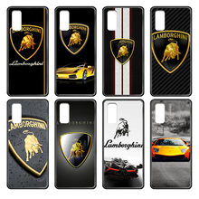 Super Run Lamborghini Phone case cover hull For Samsung Galaxy J S 3 4 5 6 7 8 9 10 Prime Plus Lite Edge black shell 3D(China)