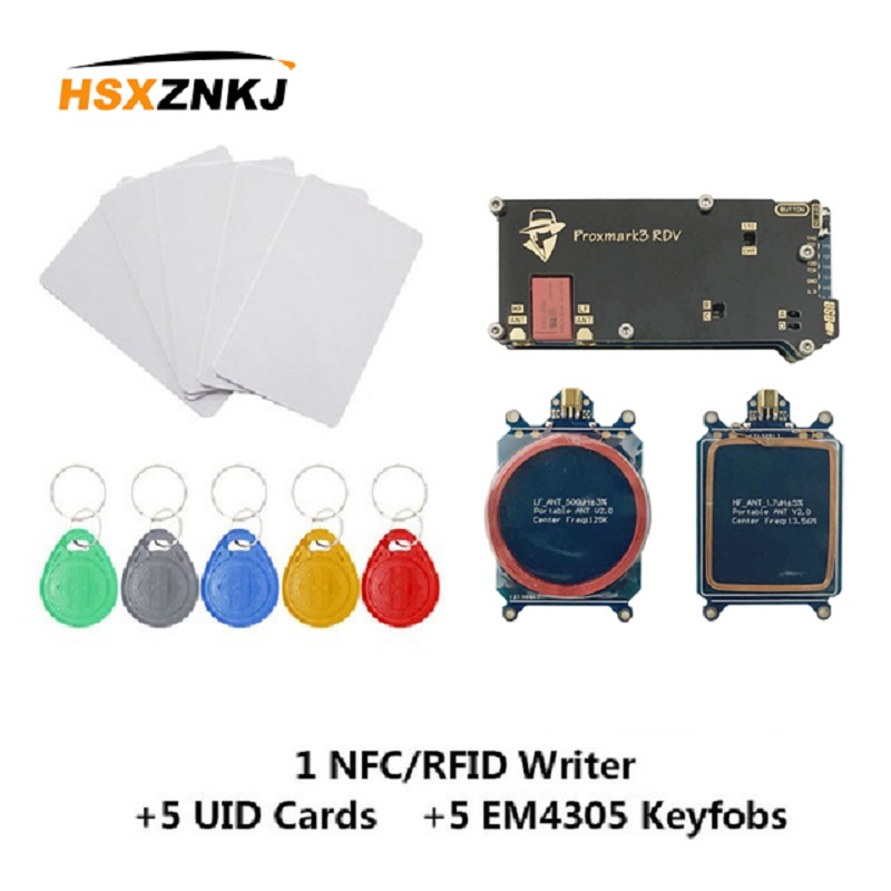 Proxmark3 V2 Super Access Control Reader Write Replicator RFID NFC T5577 UID Develops Encrypted Cracked Clone