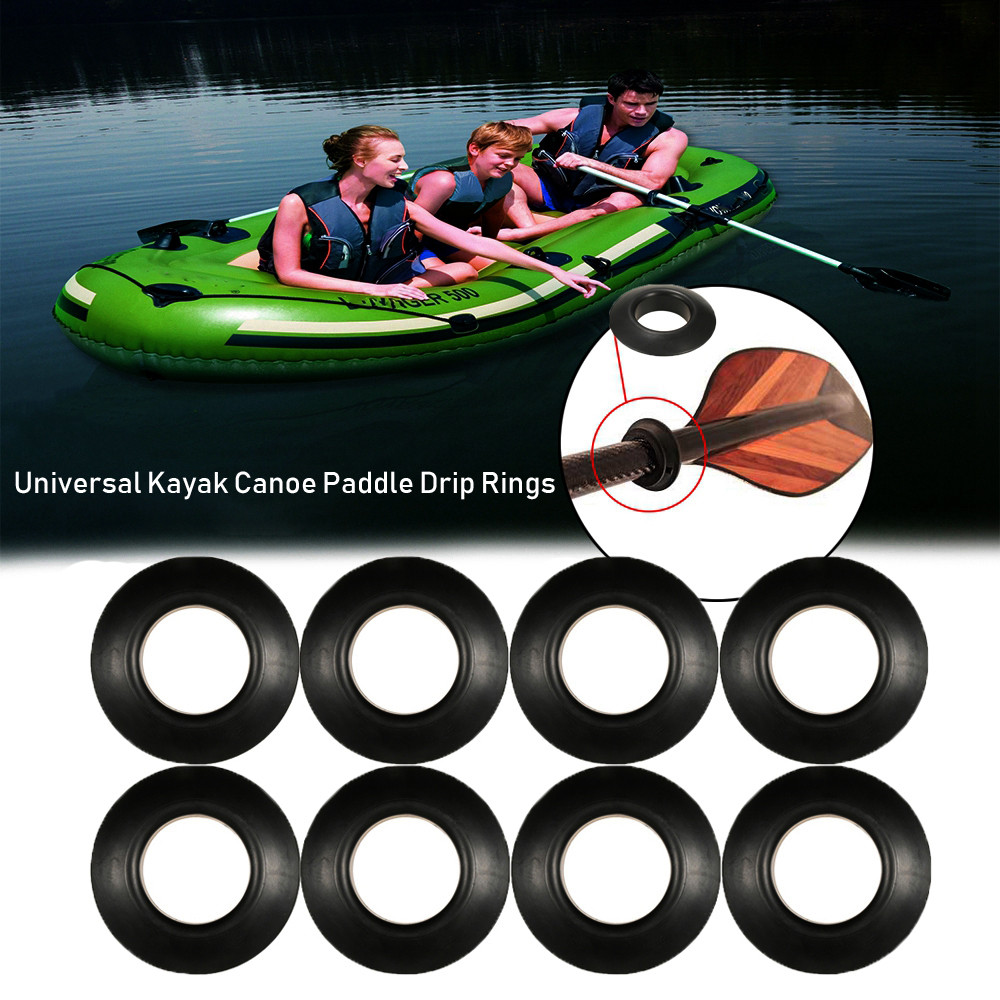 Splash Guards Propel Paddle Parts Kayak Oar Accessories Drip Ring Replacement