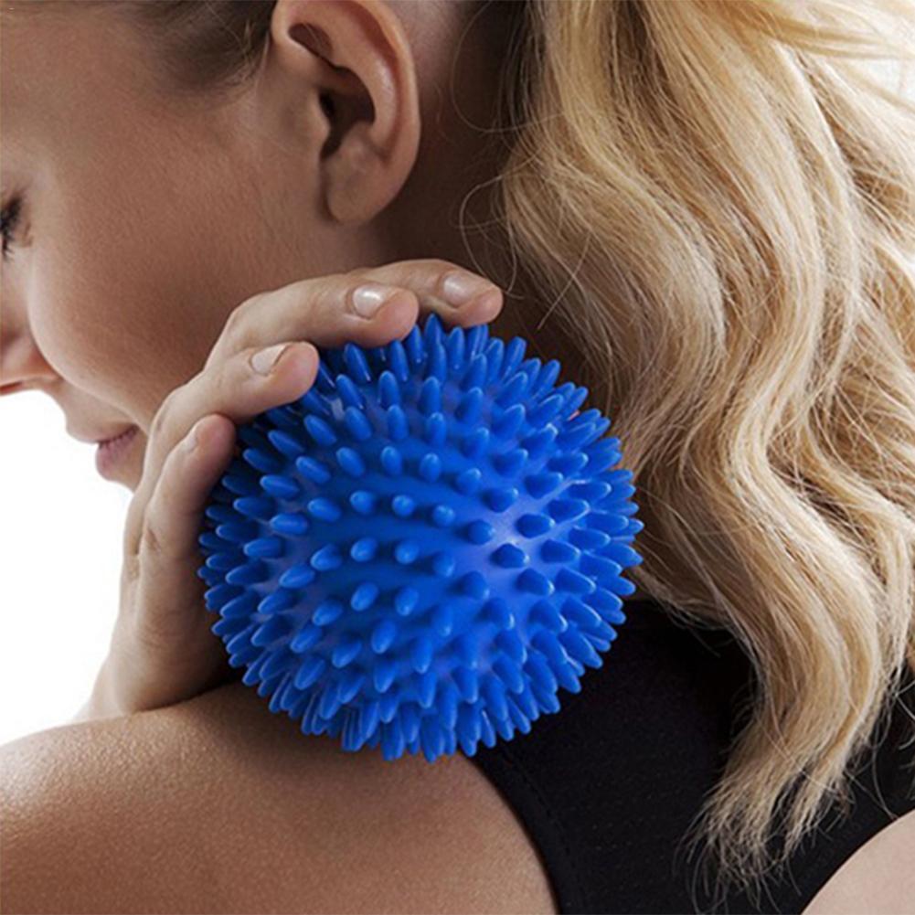 6.5CM Foot Stepping Soles Massage Fitness Roller Cervical Vertebra Rehab Plantar Fasciitis Muscle Soreness Spiky Massager Ball