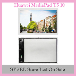 Дигитайзер сенсорного экрана для Huawei MediaPad T5 10, ЖК-дисплей 10,1 дюйма с Wi-Fi, для Huawei MediaPad T5, 10, 5, 1, 5, 1, 5, 1, 2, 5, 1, 1, 2, 1, 2, 2, 1, 1, 1, 2, 2, 2, 1, 2, 2, 2, 4, 4, 4, 1, 4, 4, 4, 4