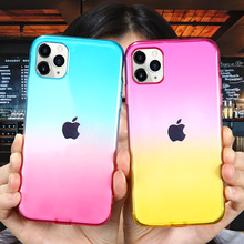 KISSCASE Gradien Case For iPhone 11 Clea
