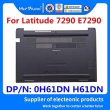 Panneau d'accès authentique pour ordinateur portable, couverture de porte, fond inférieur, pour Dell Latitude 7290 E7290 H61DN 0H61DN