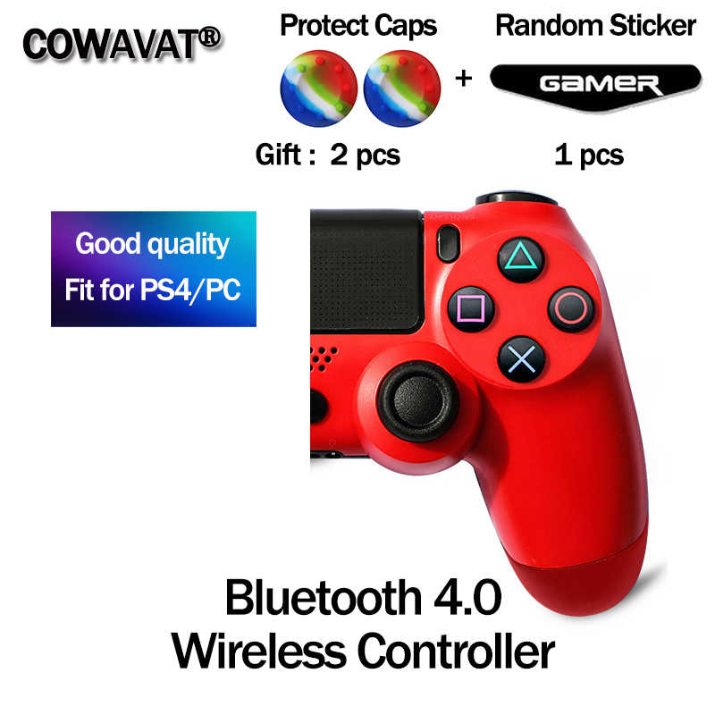 Bluetooth 4.0 Sem Fio Controlador de Joystick para Gamepads Controlador Do Console para Playstation Dualshock 4 PS4 PS4 Gamepads para PC