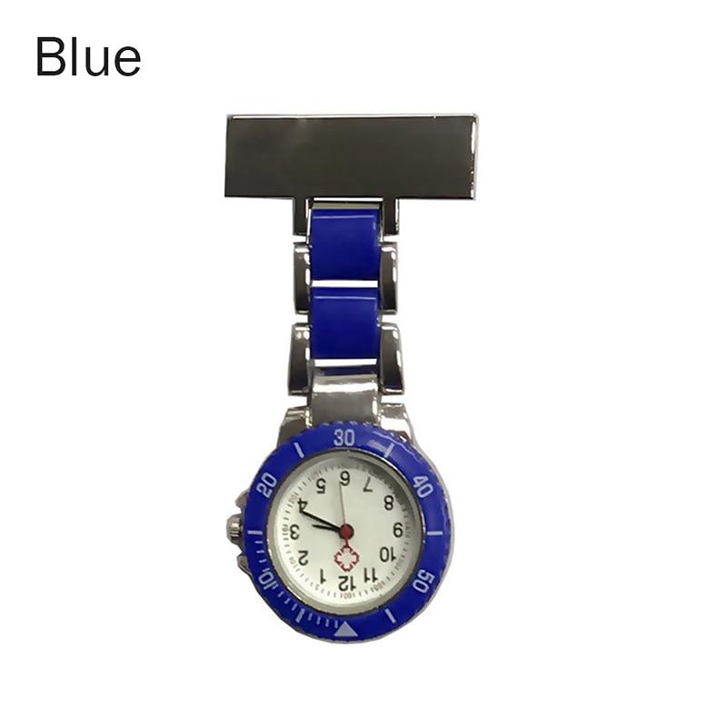 Nurse Pocket Watches Arabic Numerals Quartz Brooch Watch Doctor Nurse Hanging Pocket Watches FEA889