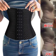Women Waist Trainer Cincher Belt Tummy Control Sweat Sport Girdle Workout Belly Band for Weight Loss Slimming Body Shaper