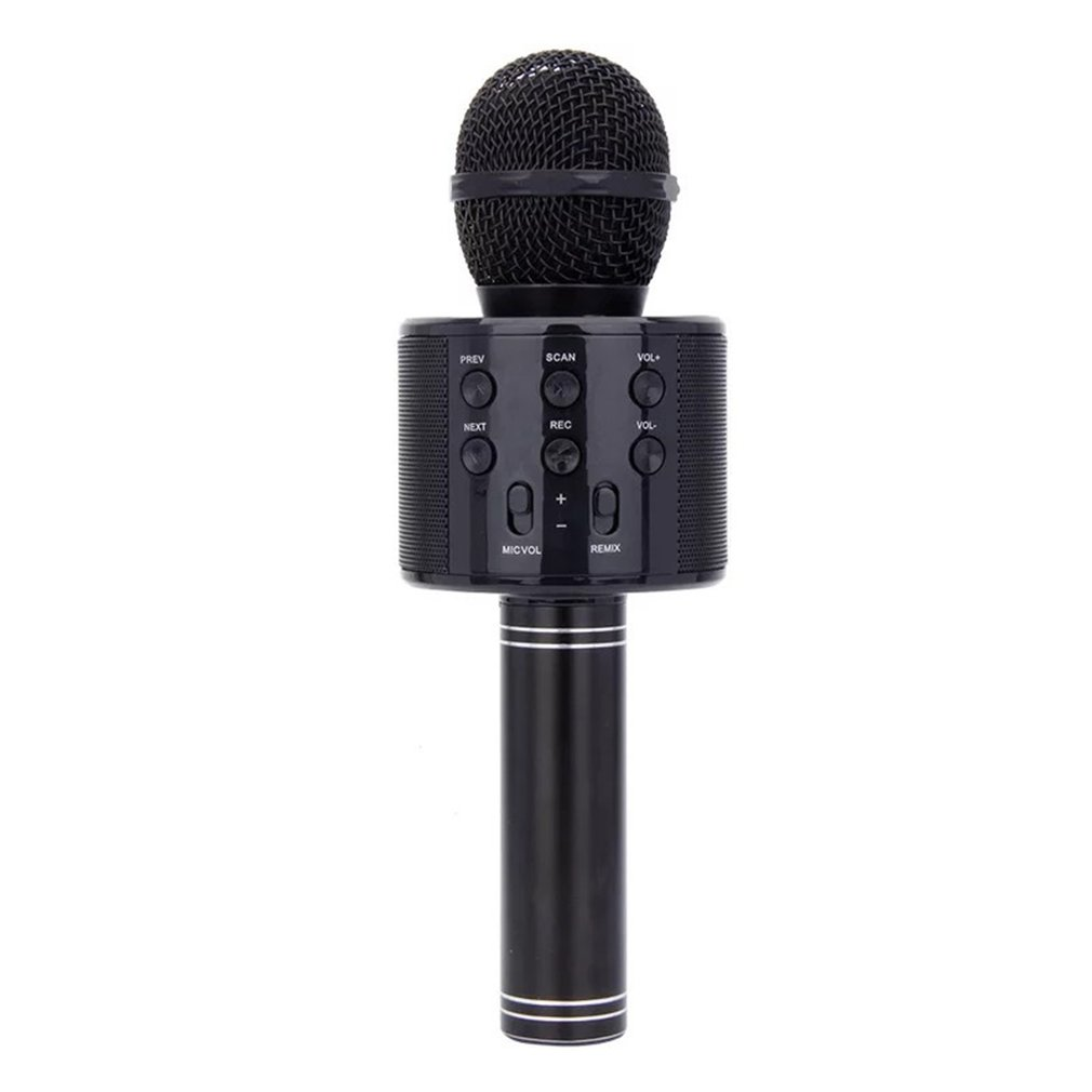 Mobile Phone Karaoke Ktv Wireless Condenser Microphone Live Karaoke Microphone Audio Integrated Professional Microphone