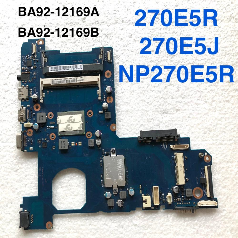BA92-12169A For SAMSUNG NP270E5R NP300E5E NP270E5V Laptop motherboard BA41-02206A BA92-12169B motherboard100%tested fully work