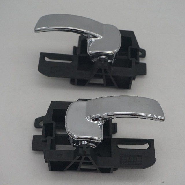 80671 jd00e 80670 jd00e 닛산 qashqai j10 (04 13) 도어 손 내부 왼쪽 오른쪽 내부 핸들 세트 크롬