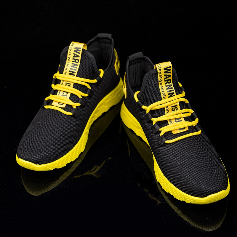 Men Vulcanize Casual Shoes Sneakers Mens Breathable No-slip Men 2019 Male Air Mesh Lace Up Wear-resistant Shoes Tenis Masculino