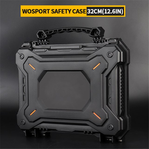 Image 5 - Tactical Gun Pistol Camera Protective Case Safety Case with Foam Padded+Safety Lock Dustproof Waterproof Hard Shell Pistol Box