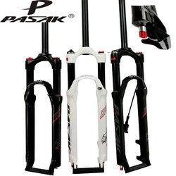 26 27,5 29 Zoll Fahrrad Gabel PASAK MTB Mountainbike Suspension Gabel Luft Dämpfung Gabel Fernbedienung Und manuelle Steuerung HL RL