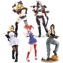 Horror Bishoujo Statue Halloween Michael Myers Freddy Jason Chucky Tiffany PVC Figure Collectible Model Toy