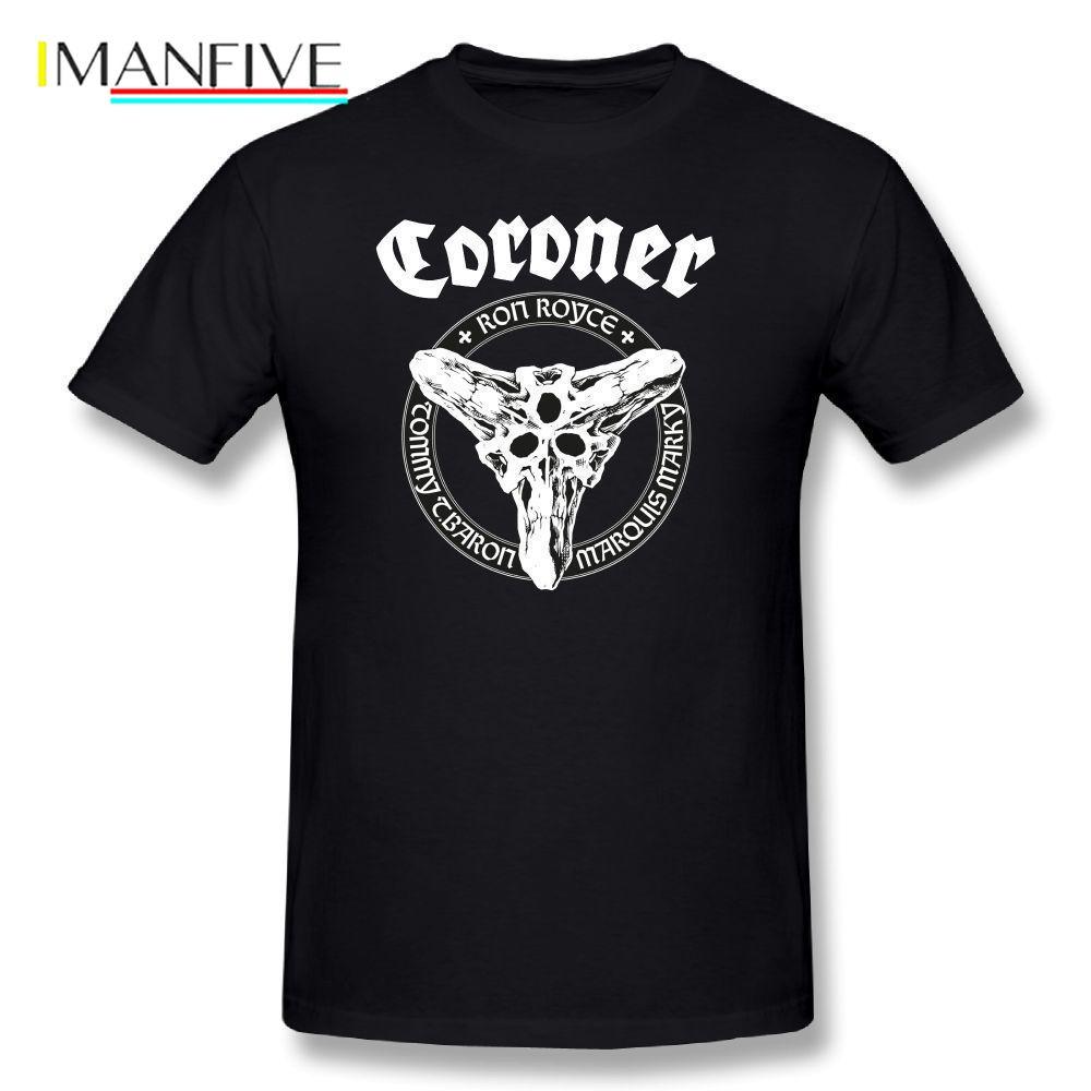 Kreator Frost Tee Shirts Cartoon Print T Shirt Summer Graphic Tshirt Basic T-Shirt Men 100 Cotton T Shirts Wholesale