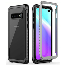 Crystal Back Panel 360 Protection For Coque Samsung S20 Ultra Case Samsung Galaxy Note 20 Ultra Note 10 Plus S10 e Note20 Bumper