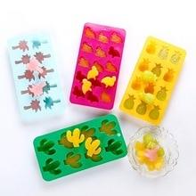 Mold-Tray Baking-Mold Cake-Chocolate Ice-Cube Kitchen-Decoration Silicone Cactus Soap