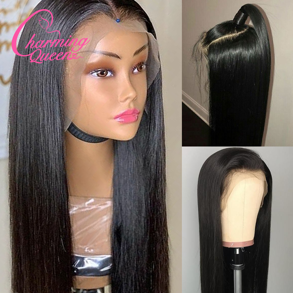 Image 5 - Brazilian Straight Lace Front Human Hair Wigs For Black Women Ombre Color Remy Hair Glueless Pre Plucked 13*4 Lace Wig Baby Hair-in Human Hair Lace Wigs from Hair Extensions & Wigs