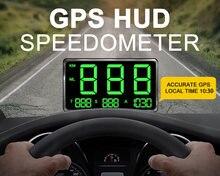 "New large screen 45"" gps hud speedometer head up display"
