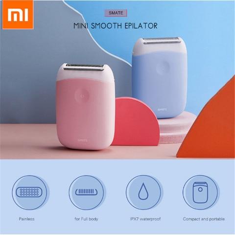 Original Xiaomi SMATE ST-L36 Electric Epilator Hair Removal Trimmer Women USB Rechargeable Mini Portable Smooth Shaver Epilator Pakistan