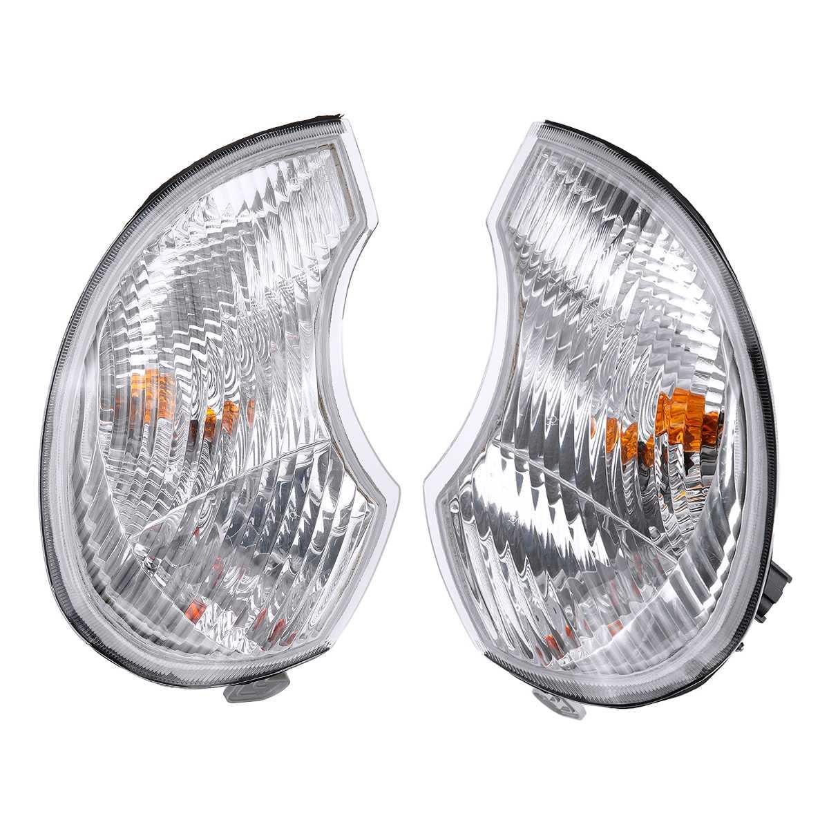 frente farol farol cabeca luzes da lampada de montagem ampla luz canto lampadas para hyundai terracan
