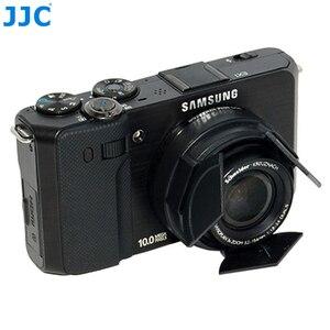 Image 4 - JJC מצלמה אוטומטי מכסה עדשה עבור Samsung EX1 TL1500 NX M 9 27mm F3.5 5.6 ED OIS עדשה