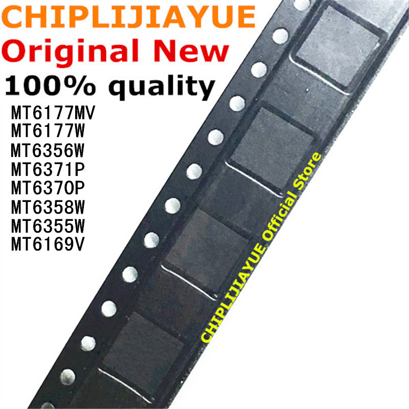 1PCS MT6371P MT6356W MT6370P MT6177W MT6177MV MT6358W MT6355W MT6169V New And Original IC Chipset