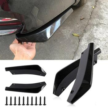 Car Rear Bumper Lip Diffuser Splitter for BMW 530Li 335i 750i 330i 325i 320si 630i X6 M6 640i 640d 760Li 320d 135i image