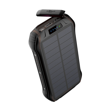26800mAh Solar Power Bank with Strong LED Flashlight Powerbank For Xiaomi Mi 8 iPhone 11 Samsung Charger Solar Battery Poverbank 1