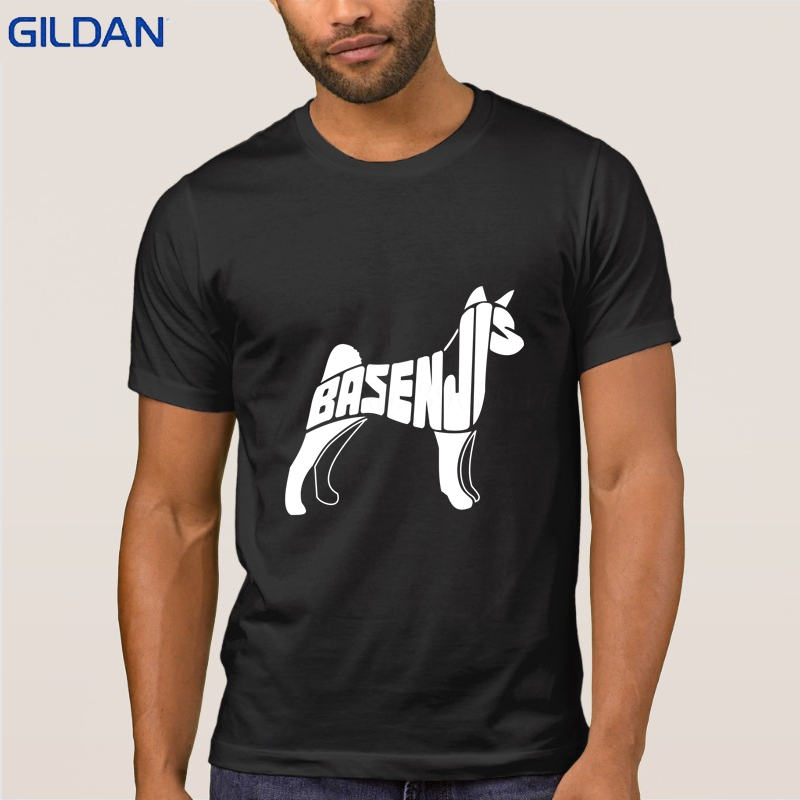 Basenji <font><b>Dog</b></font> <font><b>Art</b></font> T Shirt Designs Outfit Mens T-Shirt Basic Solid Comical Awesome <font><b>Tshirt</b></font> Man Cotton Tee Shirt Hiphop Tops image