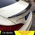 Для Mercedes CLA W117 Высокое качество углеродного волокна спойлер на задний багажник  крыло для mercedes cla CLA180 CLA200 CLA250 2014 2015