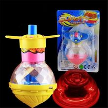 Вспышка LED свет Spinng Top Lase Gyroscope Light Up Toy Kids Toy Party Favor Gift