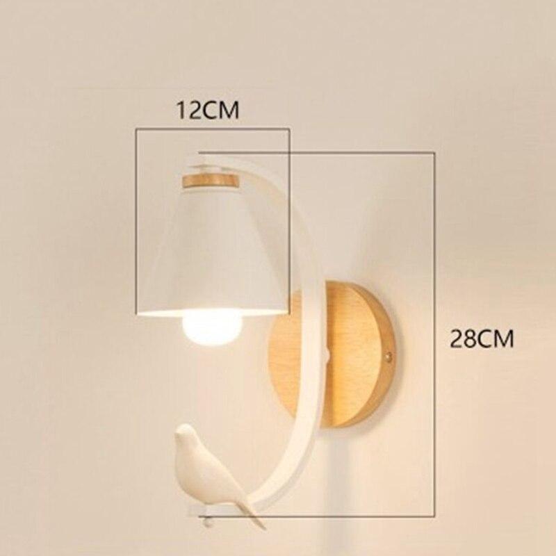 Современная настенная лампа в спальню скандинавский креативный