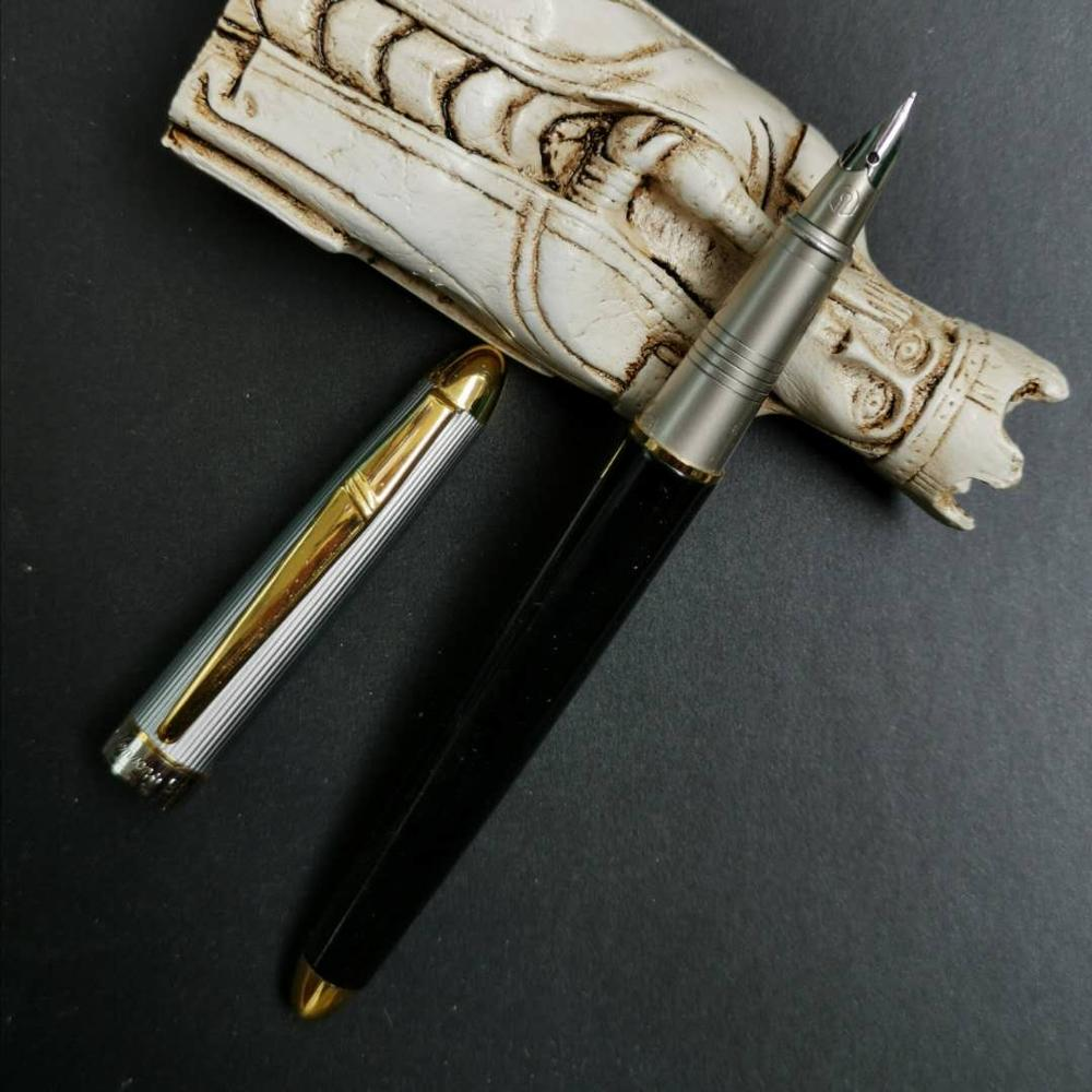 Rare Old Stock 1Pc WR Fountain Pen Ink Pen Small Nib Aerometric Pen 2007S Stationery Office School Supplies