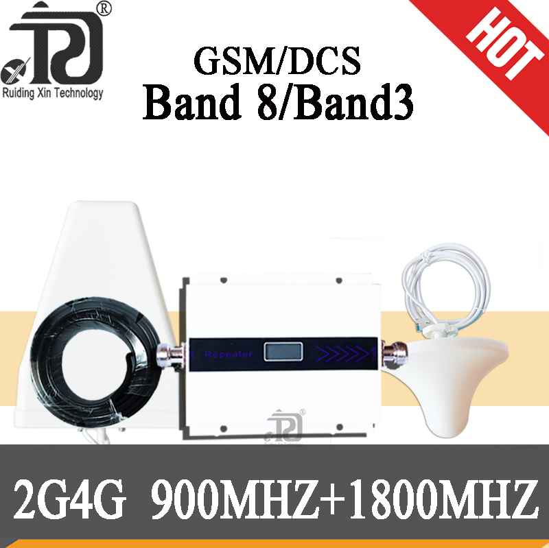 4G Signal Booster 2G GSM 900 DCS 1800Mhz Cellular Signal Repeater 1800 Mobile Signal Amplifier For MTS MegaFon, Beeline,Tele2