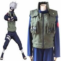 Anime Naruto Cosplay Costumes Kakashi Hatake Cosplay Costume Ninja Uniforms Halloween Party Game Cosplay Costume