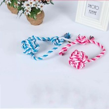 Pet Supplies Hand Drawn Cotton Rope Toy Dog Interactive Pull Training 1Pcs