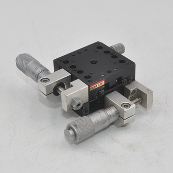 XY axis Sigma TAM-402S manual precision fine-tuning displacement slide table cross roller table aluminum 40mm surugaseiki b27 100a manual precision transmission xy two dimensional cross roller linear guide optical fine tuning slide table